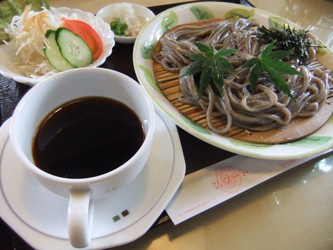 綾川町の喫茶店「スタート」で、モーニングに喉越し抜群のコーヒーうどんを!