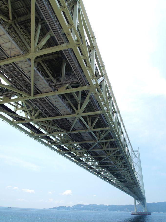世界最長のつり橋「明石海峡大橋」は兵庫を訪れたら必ず見ておきたい!