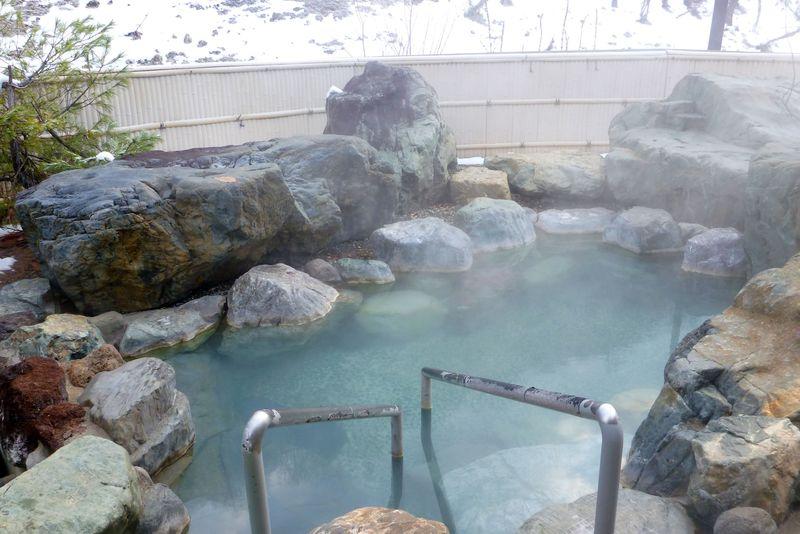 北海道唯一の国民保険温泉地!!「芦別温泉」は化粧の湯!!