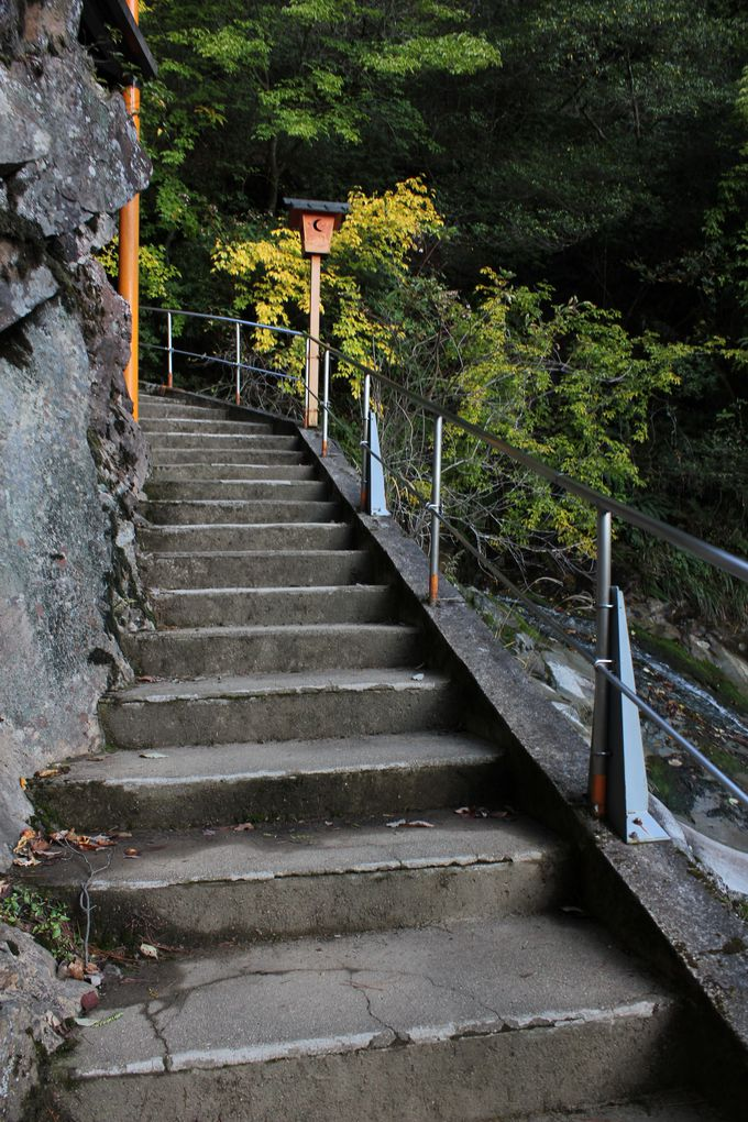 露天堀跡を見に山歩き。