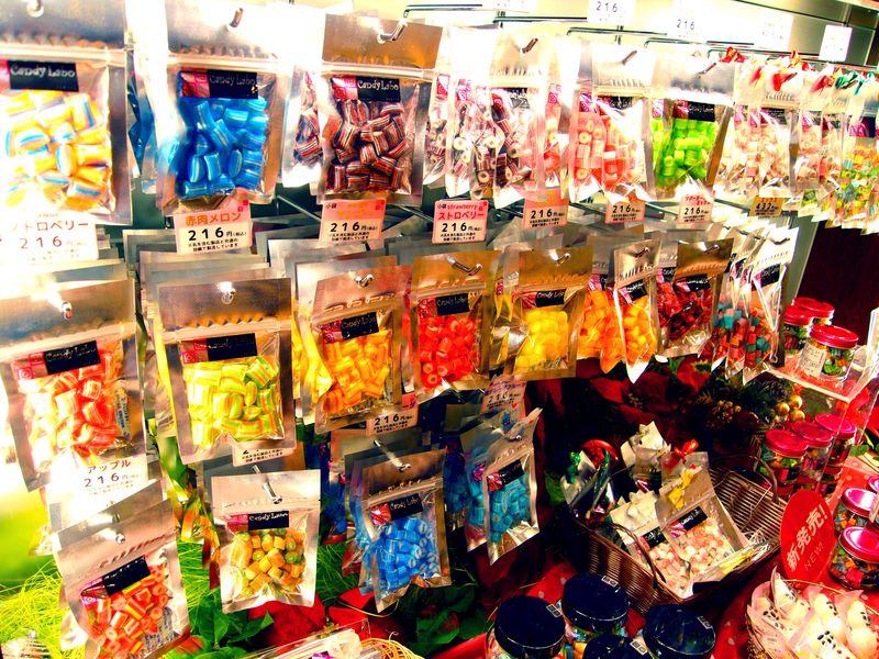 札幌の「キャンディ・ラボ」でキャンディーアートなお土産を