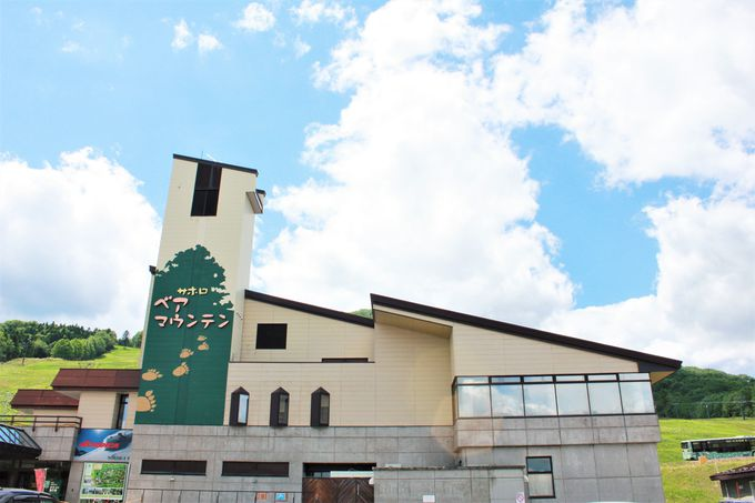 蕎麦処新得町の大自然の中にある施設