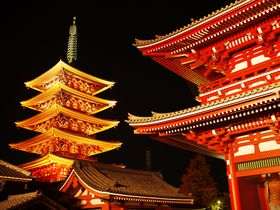 平日夜が狙い目!スカイツリーからの東京夜景と浅草寺ライトアップ