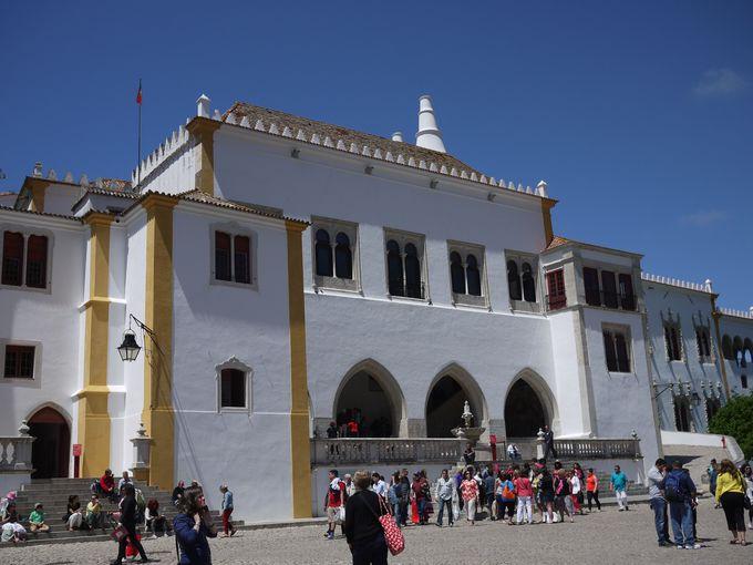 大航海時代に思いを馳せる中世の城『シントラの王宮』