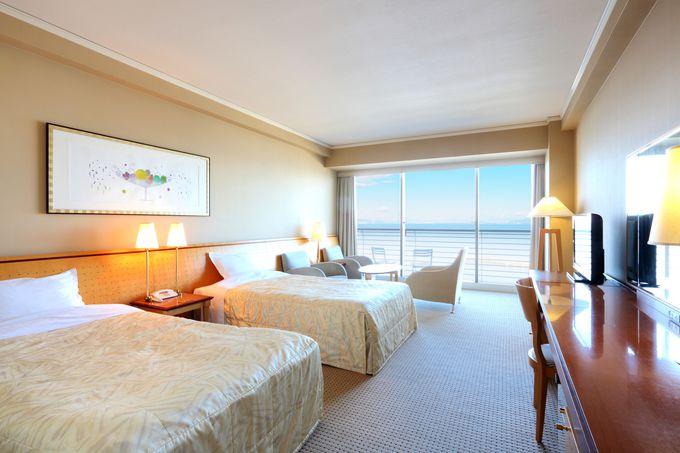 滋賀観光の拠点「琵琶湖ホテル」は全室レイクビュー