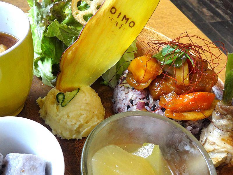 サツマイモのグルメ「OIMO cafe」