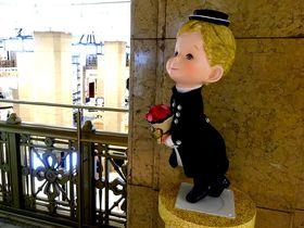 デパートが文化財!?素敵なバラの包の贈り物・日本橋高島屋