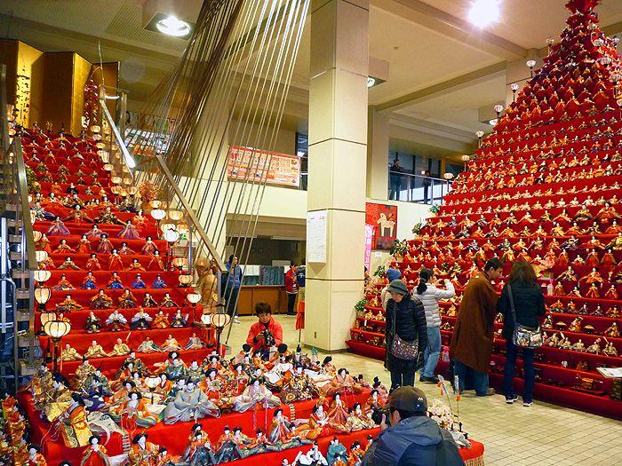 日本一の高さのひな祭り