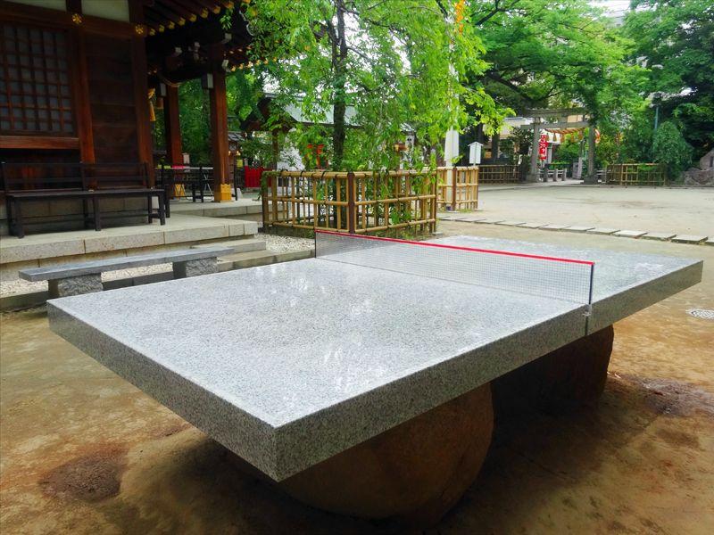 謎の卓球台