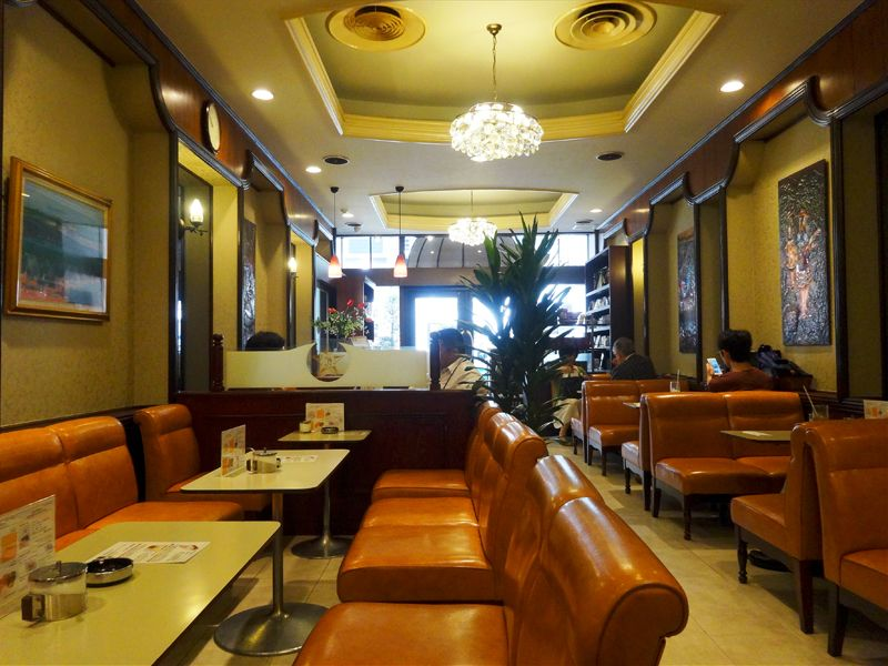 「銀ブラ」の語源は?銀座カフェーパウリスタでブラジル珈琲!