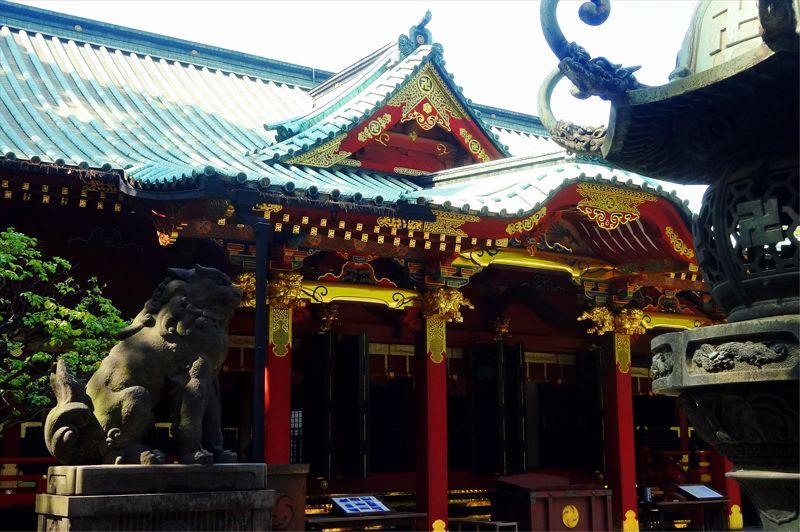 6代家宣の根津神社