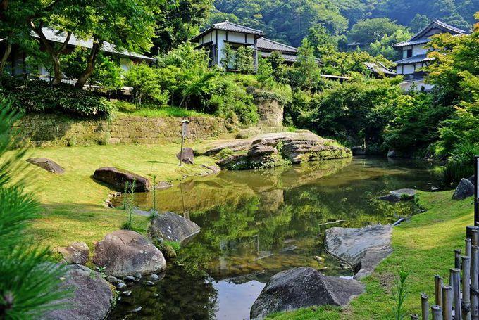 由緒ある『円覚寺庭園』