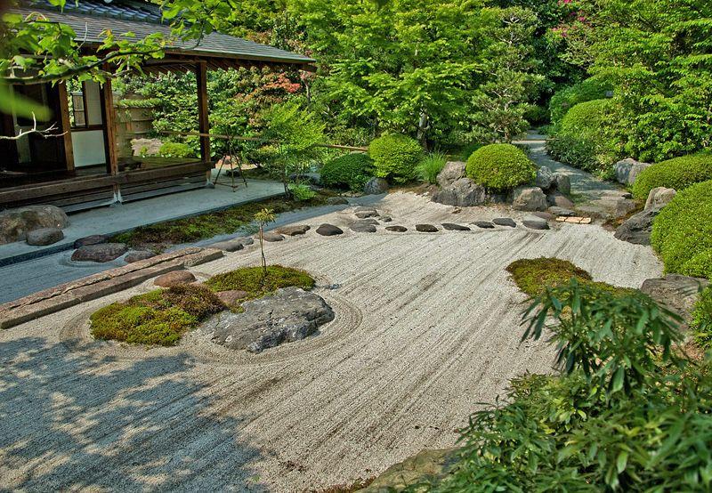 至福の茶室『庭園』