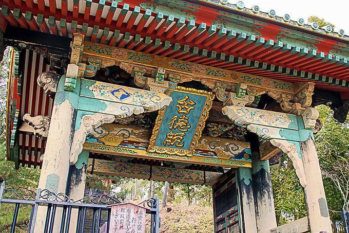 二代将軍秀忠夫妻所縁の三つの門