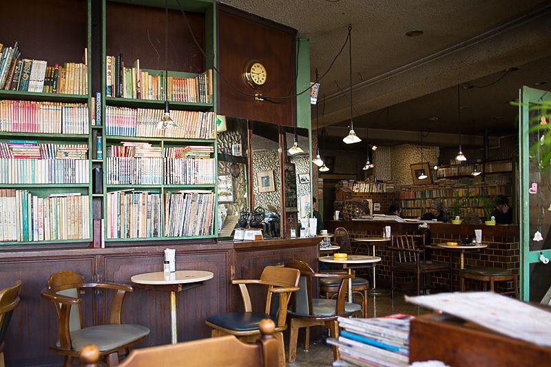 漫画家の街らしい喫茶店