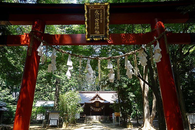 伝説の女神『氷川女体神社』