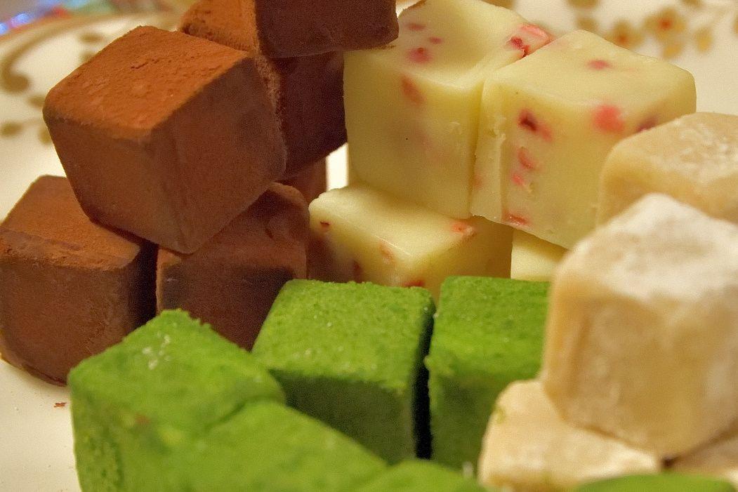 人気爆発の生チョコレートのバリエーション
