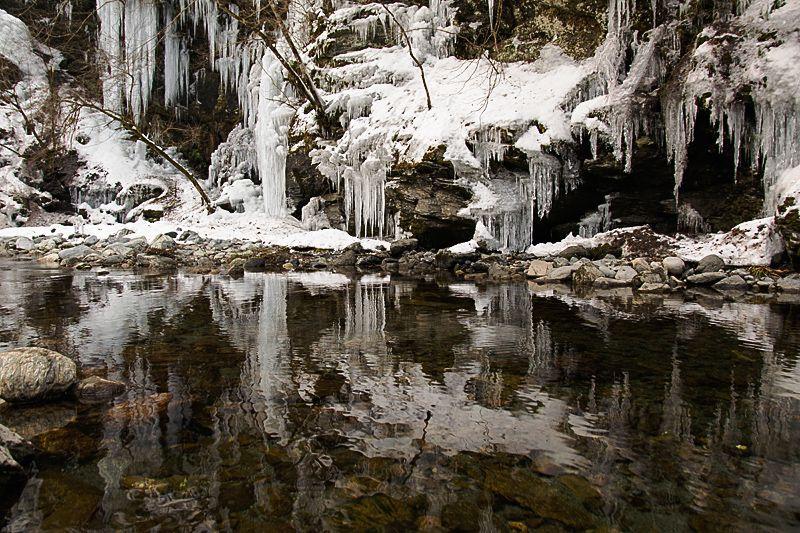 氷柱の見頃と見所
