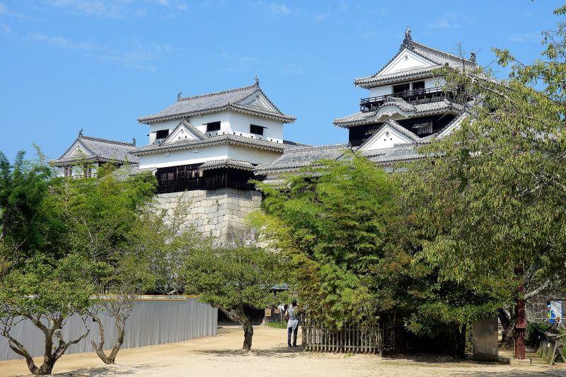 松山の街を一望する「松山城」