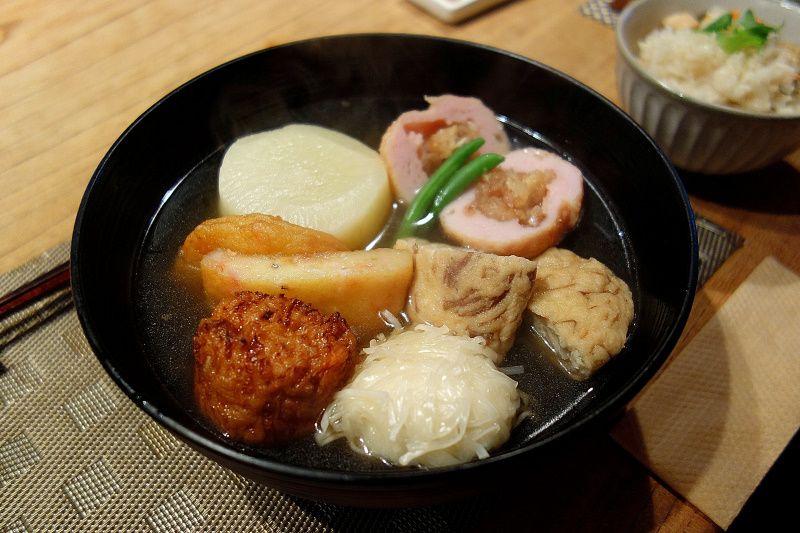 更なる至高を求めた「新おでん和食」