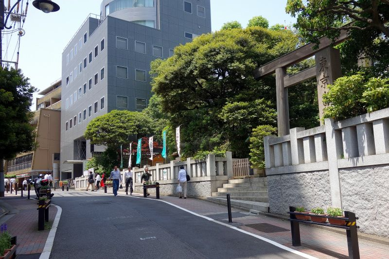 飯田橋の良縁ご利益「東京大神宮」