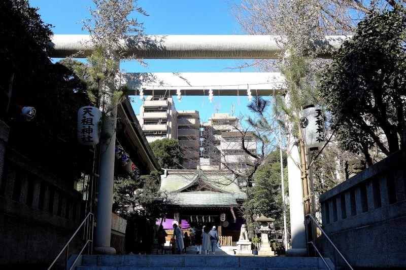 縁結び・夫婦円満のご利益「大塚天祖神社」