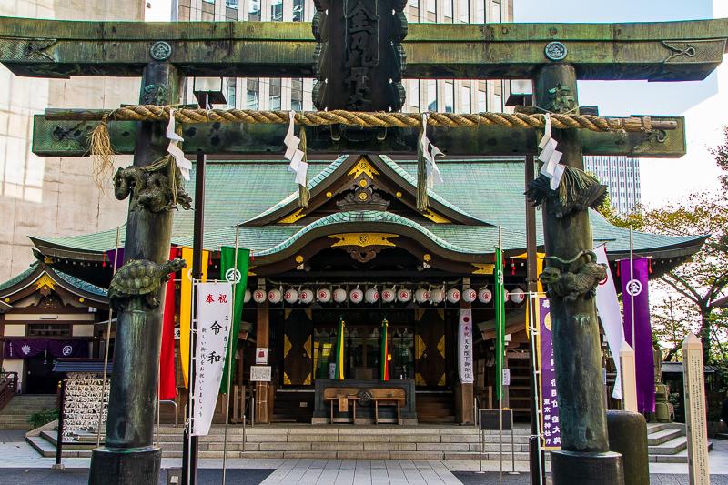 アーバンシュラインの先駆者的神社