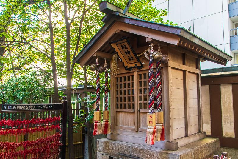 江戸時代は乙女心の縁結びの聖地