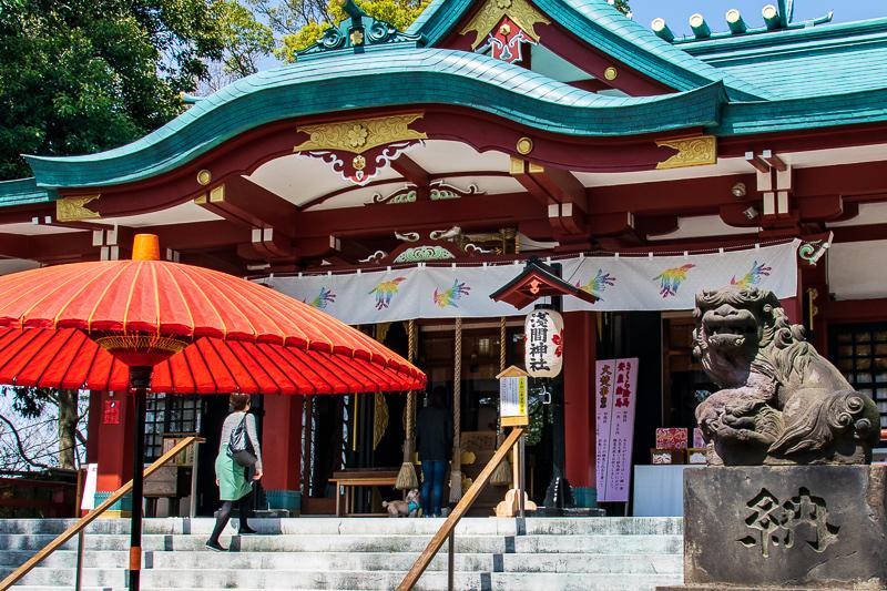 お花見ができる「多摩川浅間神社」で癒されよう