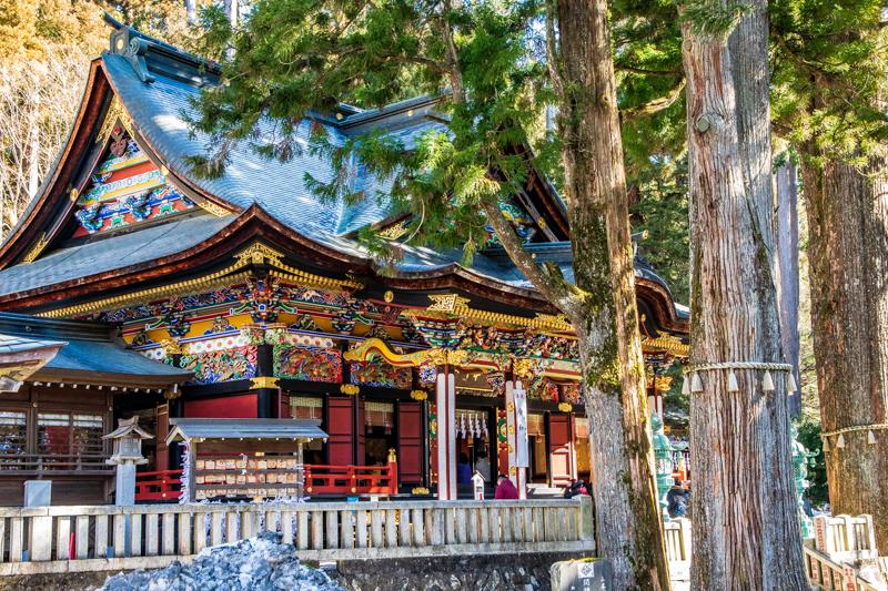 木の香りと霊気が集まる聖域