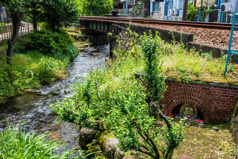 川と鉄道が織りなすロケ地スポット