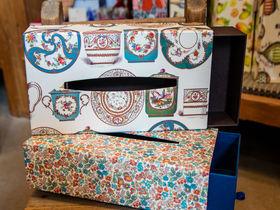 映えるティッシュ!?二子玉川「BOX&NEEDLE」は世界初の貼箱専門店