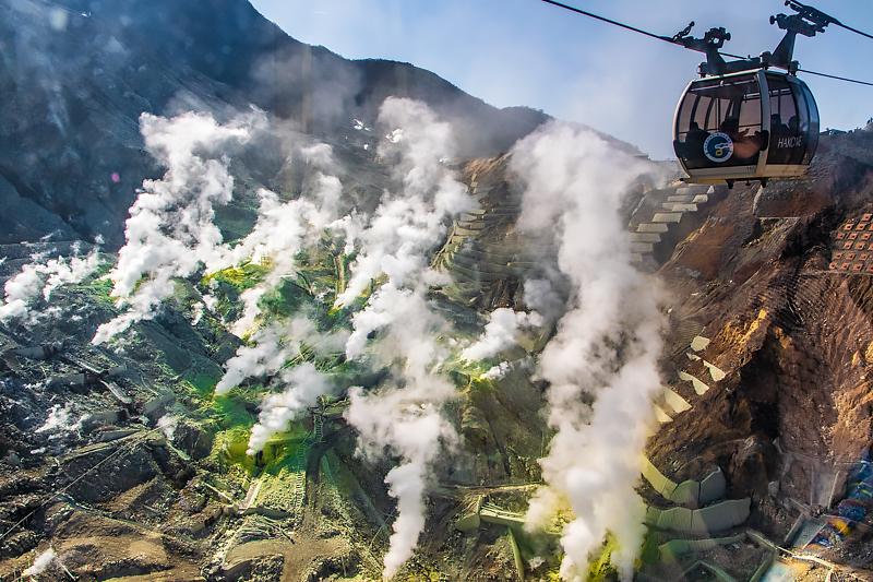 美しすぎる地獄!箱根「大涌谷」でワンチャンスの絶景ポイント