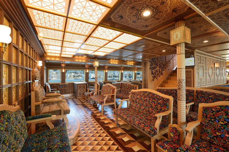 浪漫とロマンスをくすぐる特別船室