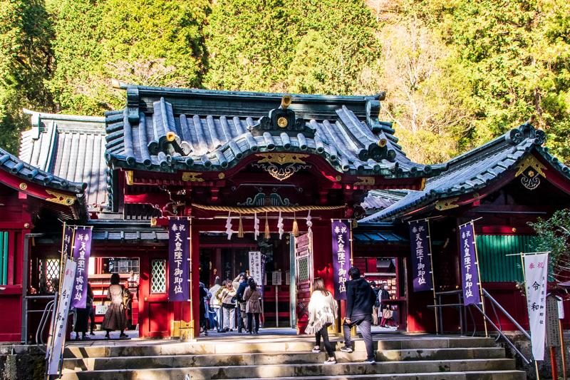 箱根屈指のパワースポット「箱根神社」