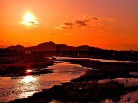 森高千里「渡良瀬橋」名曲の風景!足利市の萌えてしまう夕日