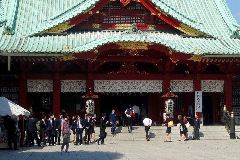 将門が供養された神社