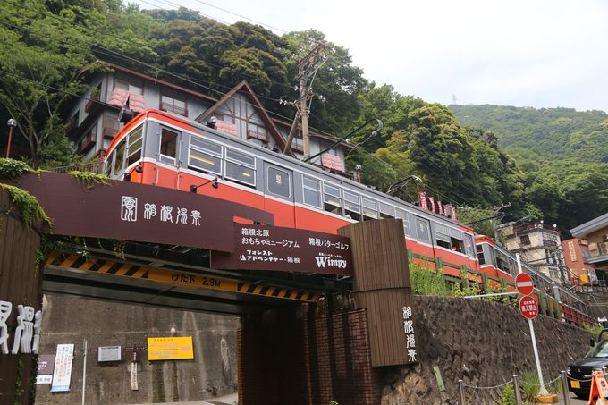 日本の鉄道で2番目に急な坂道を登る
