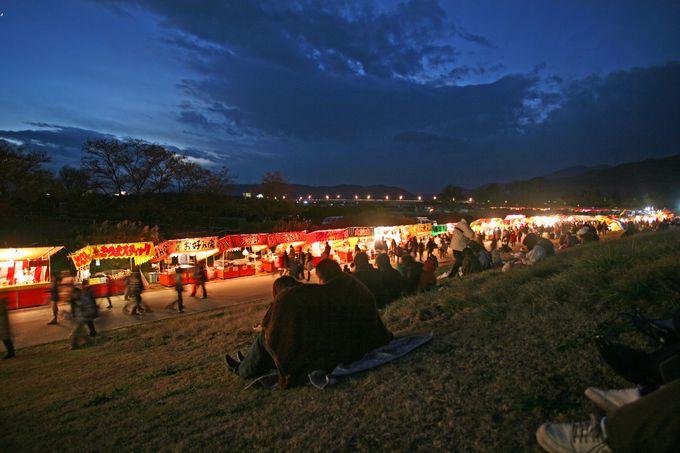 長野市で開催される、珍しい晩秋開催の花火大会