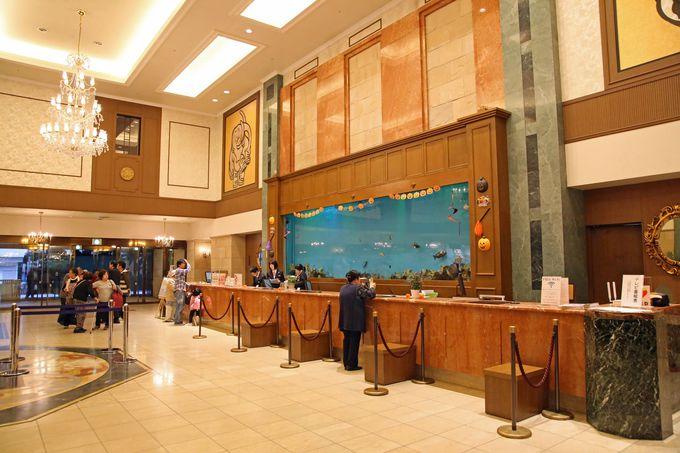 ホテルミリオーネの、ゆったりと創られた空間が旅人を優しく迎えます