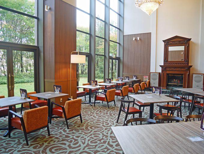 レストラン、バーなど、ホテルミリオーネは食を楽しむ施設も充実