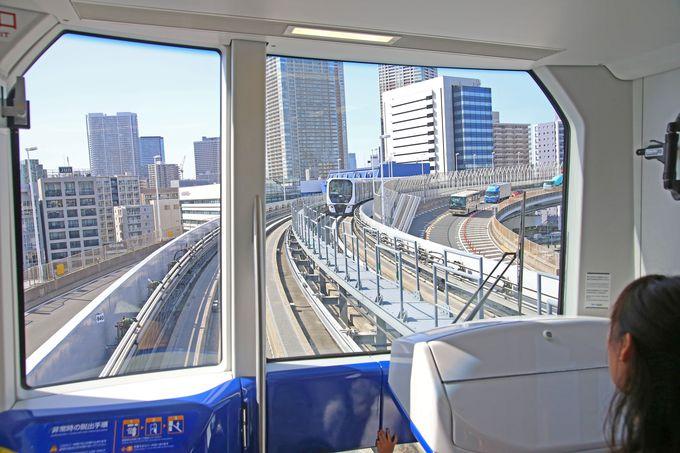 全列車が自動運転される「新交通ゆりかもめ」
