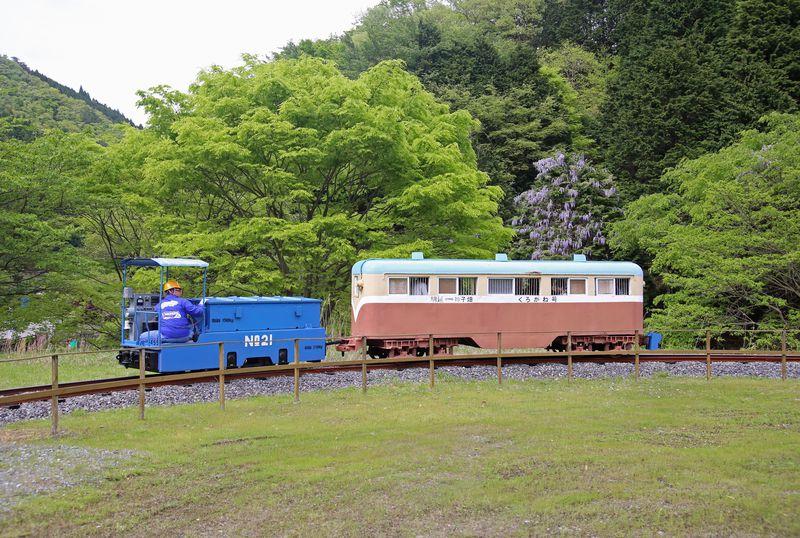 兵庫県・明延の「一円電車」で鉱山の生活を追体験しよう!