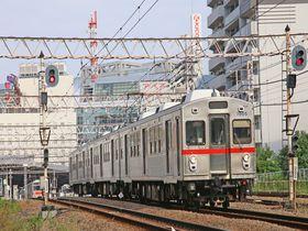 3両編成が走る東京急行池上線で下町情緒を楽しもう!