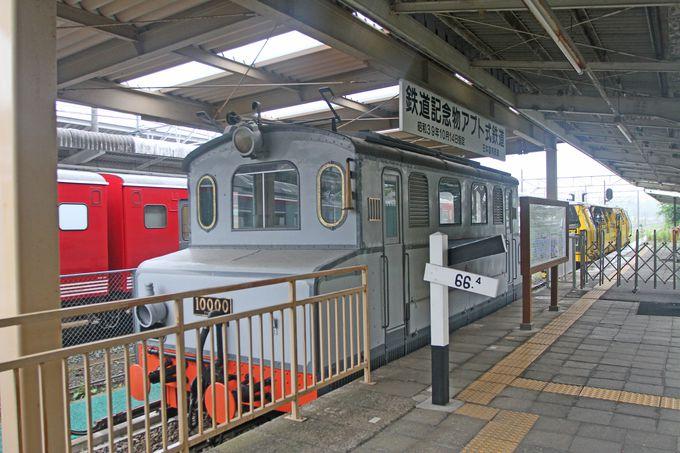 軽井沢駅にも「アプト式鉄道」の遺産があります