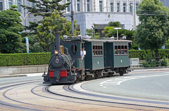 夏目漱石ゆかりの「坊っちゃん列車」で明治時代の松山にタイムスリップ!