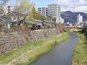 長野県・松本市の魅力が凝縮。女鳥羽川に沿って歩こう