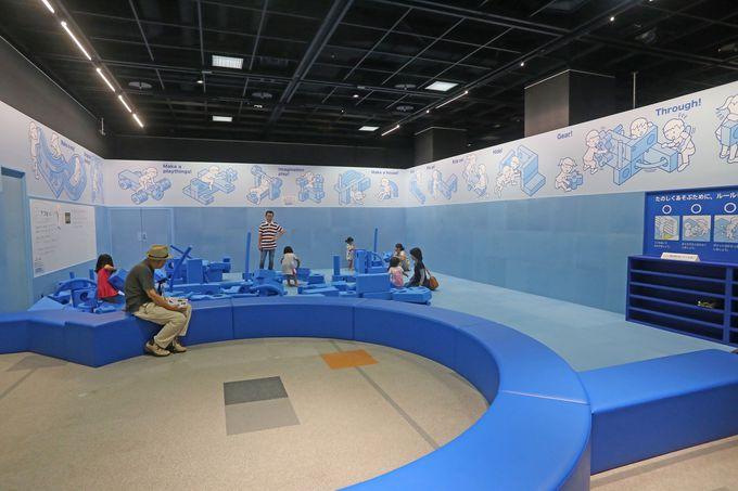 子供と楽しむスペースも用意されています