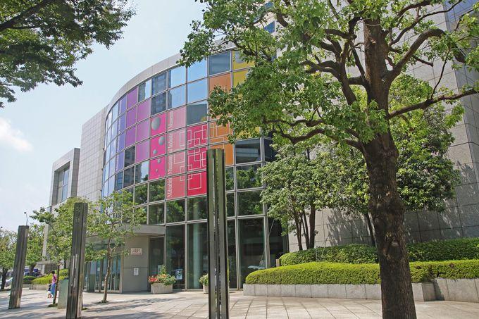 横浜のみなとみらいに建つ博物館