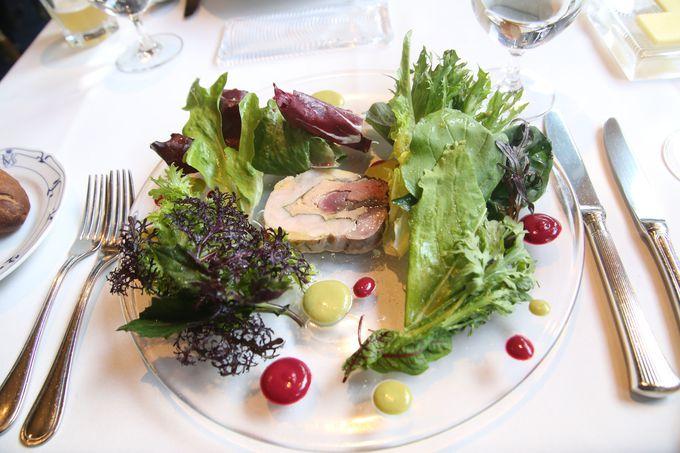 本格的なフランス料理を召し上がれ
